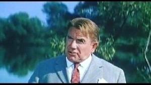 """Кадр из кинофильма """"Старый знакомый"""", где Ильинский был и режиссером, и актером."""